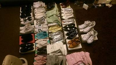 WHOLESALE JOBLOT 33 pairs of shoes, boots, sandals, heels, pumps   all BRAND NEW