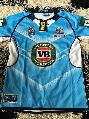 New South Wales NSW State Of Origin Rugby League Shirt Authentic BNWT