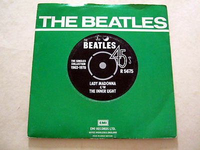 The Beatles-Lady Madonna-Parlophone/emi R.5675 + Picture Sleeve