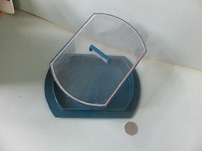 Vintage Retro early Plastic Lidded CHEESE DISH  unbranded