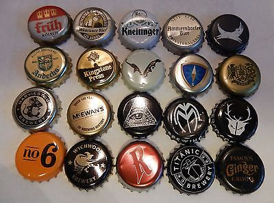 20 Different Beer / Cider Bottle Tops #4