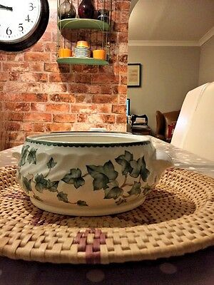 BHS Country Vine Pattern Pottery Collection Tureen Base