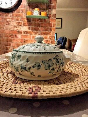 BHS Country Vine Pattern Pottery Collection Lidded Tureen (See description info)