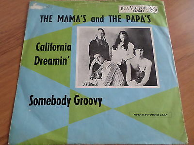"The Mama,s And The Papa,s / California Dreamin / 7"" Single"