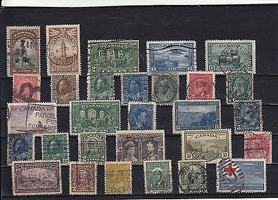 Canada - Large used stamp selection with some classics