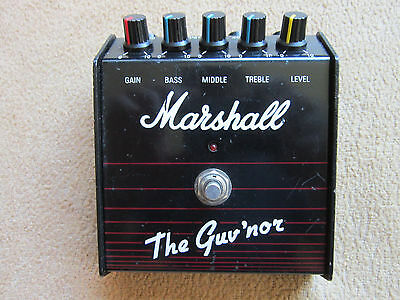 Marshall The Guv'nor MKl - Made in England -Killer Overdrive, a Gary Moore Fave!
