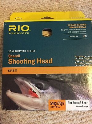 Rio scandi Short Shooting Head Fly Line 35g