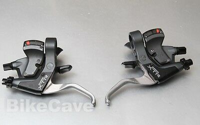 Shimano XTR ST-M950 3x8 Shift and V Brake Levers 8 Speed M950
