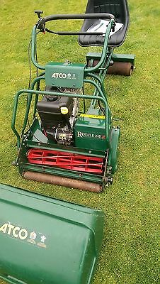 Atco Royale 24E I/C cylinder lawn mower ( Allett Buckingham ) auto steer seat