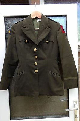 Ww2 Us Wac/anc Officers Jacket Womens Private Purchase