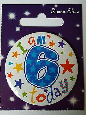 6th BIRTHDAY BADGE