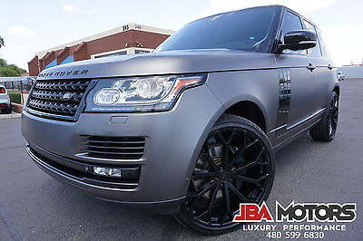2013 Land Rover Range Rover 13 Range Rover HSE Full Size SUV Highly Optioned! 2013 Range Rover HSE Full Size SUV like 2010 2011 2012 2014 2015 SC Supercharged