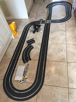 Scalextric Sport Track 4x Controllers 2x Power Packs