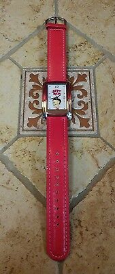Women's Betty Boop Watch Red Band with Canister - FREE SHIPPING!!!