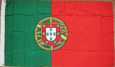 New 3' by 5' Portugal Flag. Free Shipping in Canada!