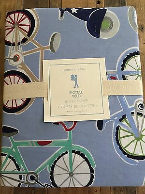 Pottery Barn Kids Bicycle Duvet Cover Twin