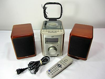 JVC FS-7000 Executive Micro Ultra Compact Stereo CD Player System Remote