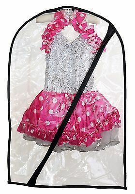 Dance Costume Bag - Children's Garment Bag for Dance - Clear Small