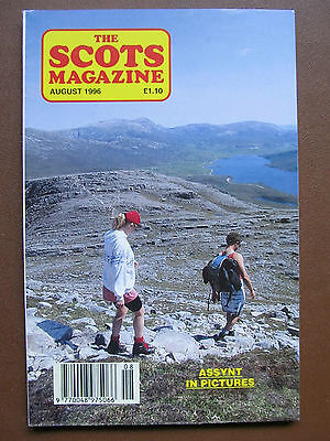 SCOTS MAGAZINE Aug 1996 - Duns (Forts), Assynt, Culloden, Wormit Bees