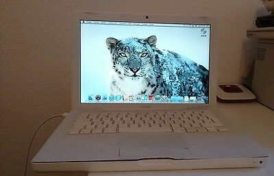 "Portatil Apple Macbook ""13.3"" C2 Duo@2.16Ghz 1Gb ram piezas averiado reparar"