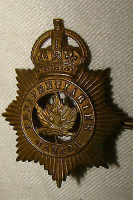 Vintage PENITENTIARIES CANADA Badge ~ Made in England