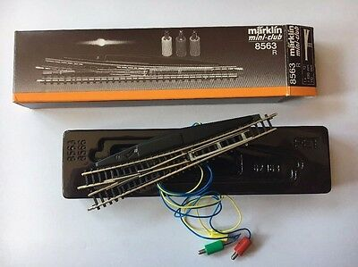 Marklin Z Scale 8563 Electric Right Hand Turnout