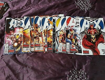Avengers vs x-men (complete except for issue #10)