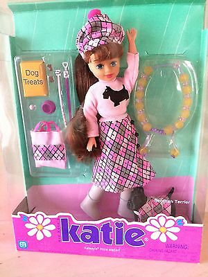 RARE Kid Kore Katie Kelsey's Little Sister Scottish Terrier Dog Pet Doll
