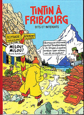 Hommage A Herge Tintin A Fribourg