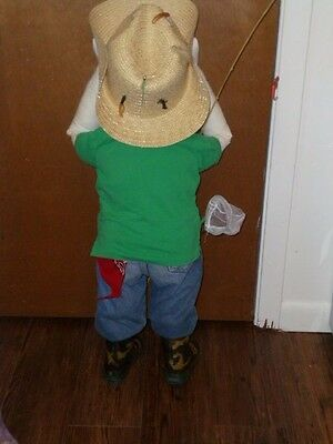 Time out doll  Blake  Ready to go Fishing .