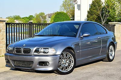 2004 BMW M3 Base Coupe 2-Door 2004 BMW E46 M3 SG/BLK 6MT NEW MICHELIN PS2 TIRES