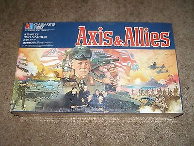 Axis & Allies WWII 1942 Gamemaster Series Board Game 1987 Edition (Brand New)