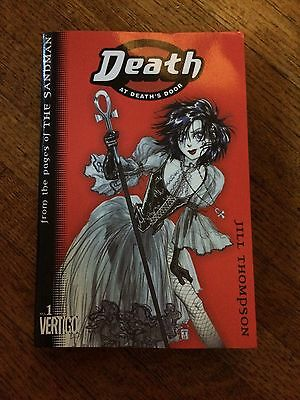 Death at Death's Door. Manga. Vol1. Jill Thompson. From The Pages of The Sandman
