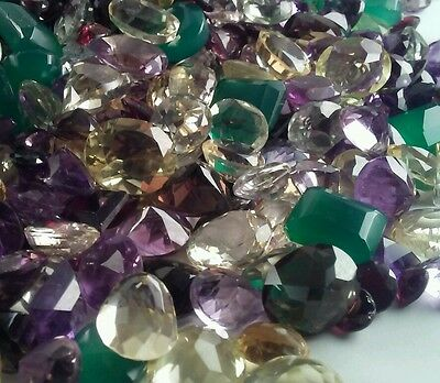 Natural Mixed Faceted Loose AA Hand Selected Gemstone Lot 35+ Carats M8