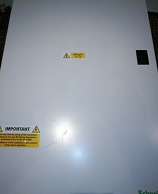 Schneider Distribution Board 18Way Sea9Bn18 3 Phase With 125A Incomer Mgi1253N