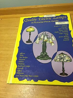 Quality Electric Lamps - A Pictorial Price Guide L-W Book Sales 1992 Hardcover