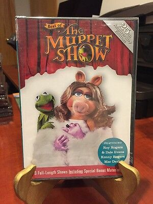 Best of the Muppet Show:Roy Rogers & Dale Evans,Kenny Rogers,Mac Davis(DVD,2002)