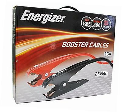 1-Gauge 800A Heavy Duty Jumper Battery Cables 25 Ft Booster Jump St...