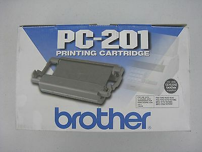 Genuine Brother PC-201 Fax Cartridge MFC-1780 IntelliFax 1270 NEW in Box