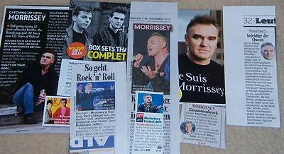 Morrissey The Smiths 12 pc German Clippings Collection