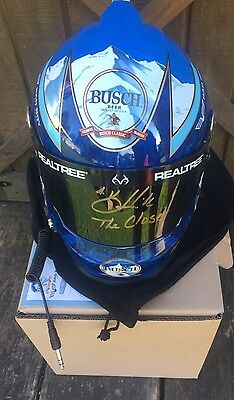 Kevin Harvick AUTOGRAPHED SIGNED Full Size Helmet Busch Light Exact Proof