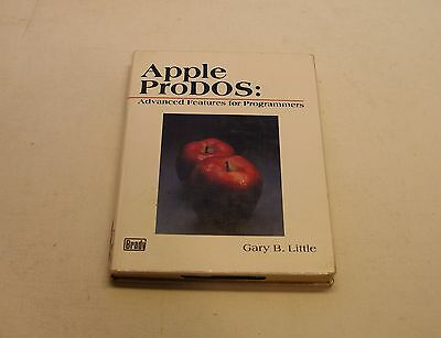 Excellent, RARE Apple IIe, IIc, IIGS ProDOS Advanced Programming Hardcover Book