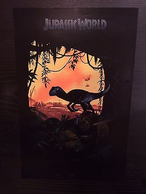 Sdcc Exclusive Jurassic World Poster