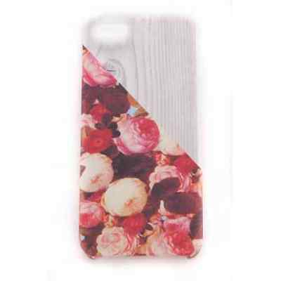 Coque iPhone 5 5S SE Wood Rose Japan Meat Japan - Plastique