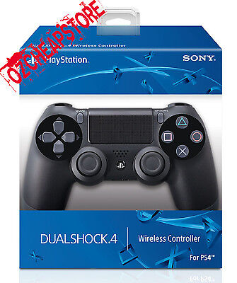 NEW IN BOX PS4 Controller DualShock Wireless Bluetooth Jet-Black GENUINE