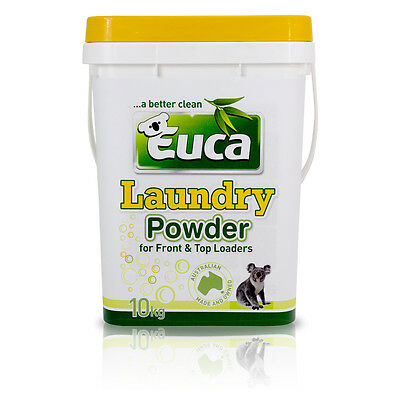Eucalyptus Laundry Powder detergent concentrate Low allergenic top & front load
