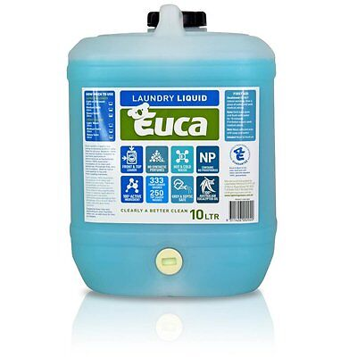 Eucalyptus Laundry Liquid detergent concentrate Low allergenic top & front load