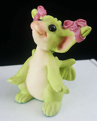 """Pocket Dragons """"I'm So Pretty by Real Musgrave Signed 1995 Mint Condition No Box"""