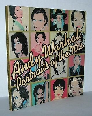 ANDY WARHOL Portrait of the 70's - First Edition 1st Printing