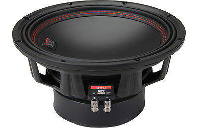 MTX 55 Series 5510-22 10 inch 400W RMS Dual 2Ω Car Audio Subwoofer FREE SHIPPING